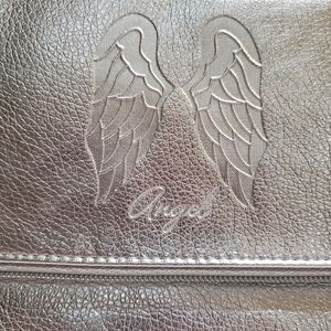 Victoria's Secret Totebag Silver with Pink Lining